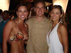 肯尼斯·阿吉参加哥伦比亚小姐选美比赛