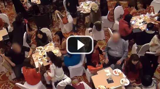 亚洲女性在深圳中国国际约会活动中寻找外国男性